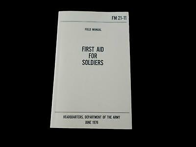 U.s Department Of The Army First Aid For Soldiers Handbook