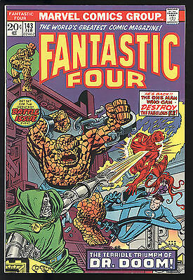 Fantastic Four (1961) #143 1st Print Dr Doom Mark Jewelers Conway Buckler NM-