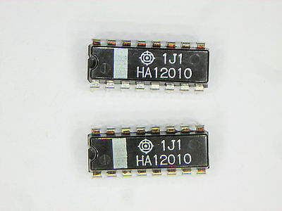 "HA12010  ""Original"" Hitachi  16P DIP IC  2  pcs"
