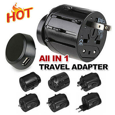 International Universal Travel Power Plug AC Adapter Converter UK US EU AU