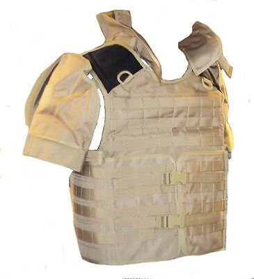 Body Armour Cover - SOLO Molle Desert Style Cover- No Armour included - NEW item