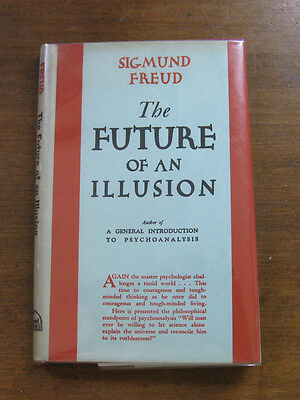 THE FUTURE OF AN ILLUSION  Sigmund Freud -  1st/5th 1949 religion psychology