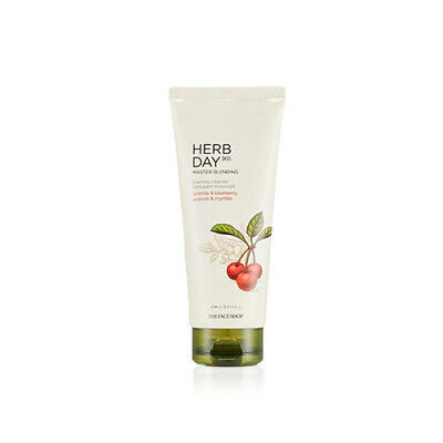 THE FACE SHOP Herb Day 365 Cleansing Foam 170ml Choose 1 Among 6 Type Free gifts