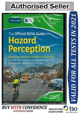 Official DVSA Guide to Hazard Perception DVD-ROM VALID FOR 2019 test -Hzrd
