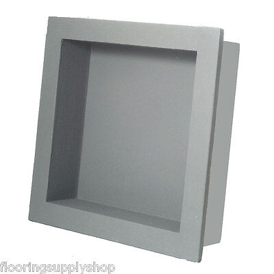 Preformed Square Shower Niche Shelf 14x14 - Ready to Tile & Waterproof USA Made