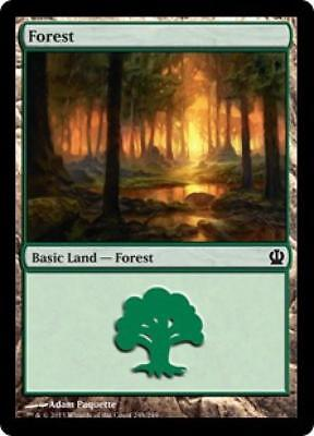 4x Forest #248 - MTG Theros - NEW
