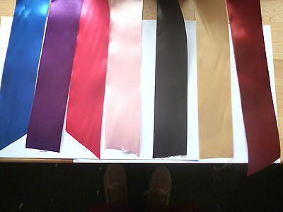 50mm Double/Single sided Satin Ribbon 1- 3 or 5 metres - 10 colours
