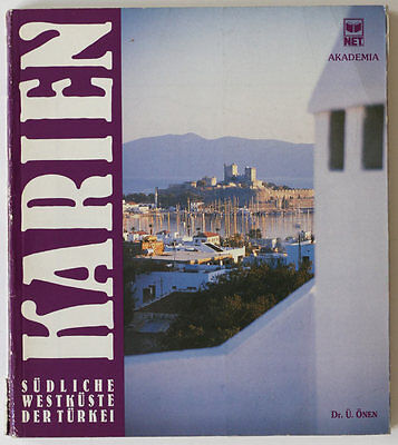 CARIA Greek states rare Turkish archaeology book from 1989