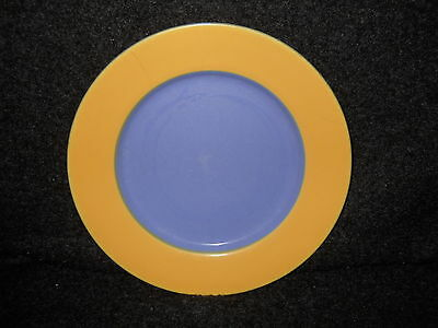 """Lindt Stymeist Colorways  salad plate  9"""" yellow blue"""