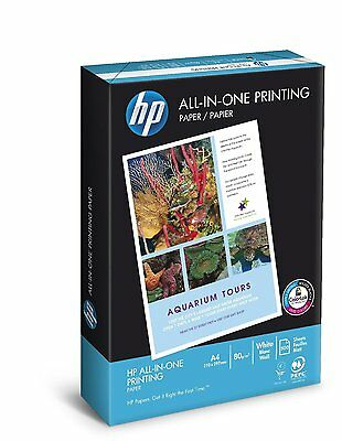 HEWLETT PACKARD HP A4 WHITE PAPER - 80gsm / 2500 SHEETS PER BOX 1 2 3 4 5 BOXES
