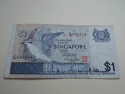 Singapore One Dollar Banknote