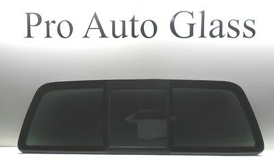 OE Brand Rear Sliding Back Window Glass Privacy Tint for 97-03 Ford F150 w/Butyl