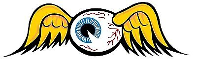 Von Dutch Eyeball Bumper Sticker Laptop Sticker Toolbox Sticker Window Sticker