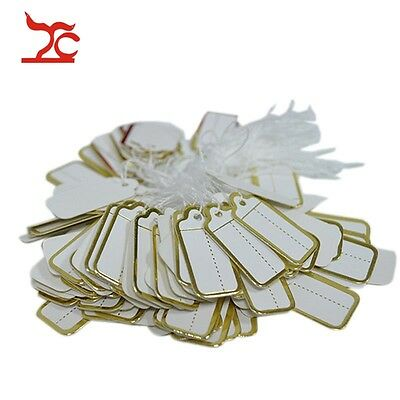 Wholesale 1000pcs Golden Line Jewelry Price Tags Store Supply Price Lables