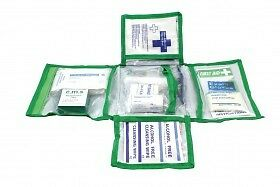 In Car First Aid Kit - Useful First Aid Kit in Canvas Pouch for Car Home Office