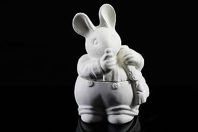 Ready to paint ceramic bisque - Michael Mouse sugar bowl by Gare 14 cm tall