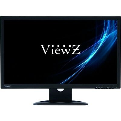 "Viewz Premium VZ-23LED-E 23"" LED LCD Monitor - 16:9 - 5 ms"