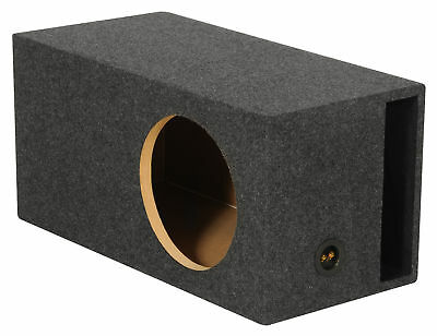 "Rockville RBS12 Single 12"" 2.6 cu.ft. SPL Vented/Ported Subwoofer Enclosure Box"