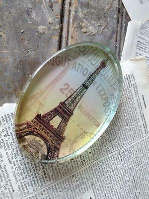 ACCENT ON PARIS French Eiffel Tower Paperweight France Antique Reproduction