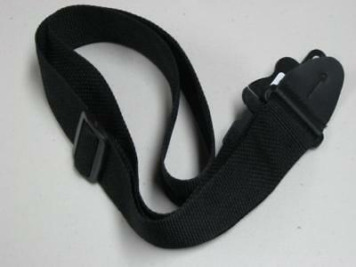 New - LM PS3 Series 2 inch Black Guitar Strap