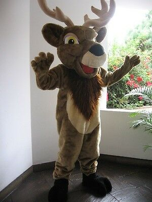 Elk Mascot Costume Great For Business Promotion