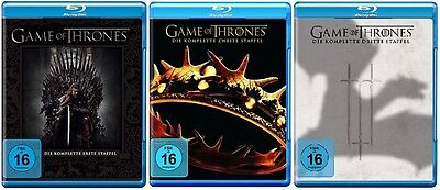 Game of Thrones Staffel 1-3 (1+2+3) Blu-ray Set NEU OVP
