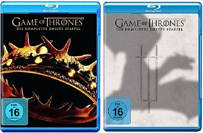 Game of Thrones Staffel 2+3 Blu-ray Set NEU OVP