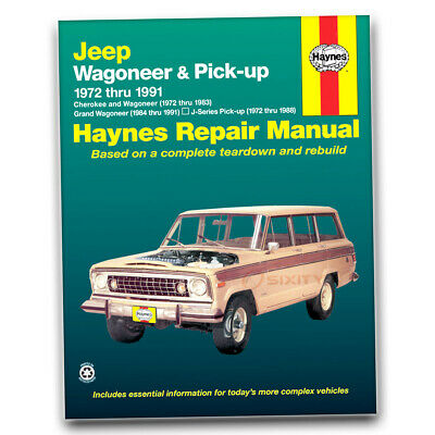 haynes repair manual for jeep grand wagoneer base limited shophaynes repair manual for jeep grand wagoneer base limited shop service ct