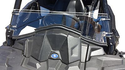 **NEW** Polaris ACE POLYCARBONATE Half Windshield (For ACE without Hard Doors)