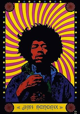 JIMI HENDRIX Poster Print Picture Art A2 A3 A4 (5)