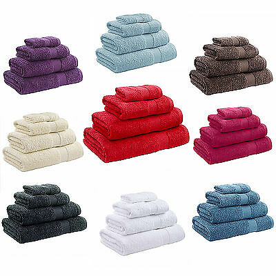 Catherine Lansfield 550Gsm 100% Egyptian Cotton Face Bath Sheet Hand Towel New