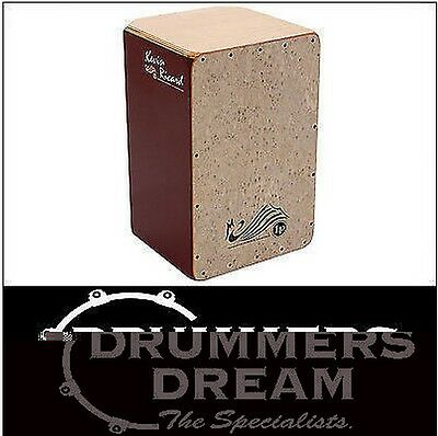 LP Latin Percussion Kevin Ricard Signature Pro Level Cajon LP1434 Hand-construct