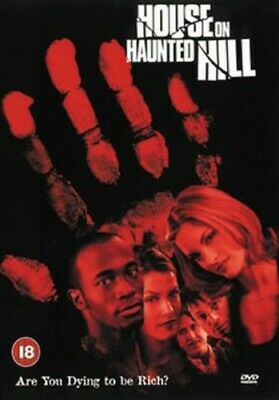 House on Haunted Hill DVD (2000) Geoffrey Rush