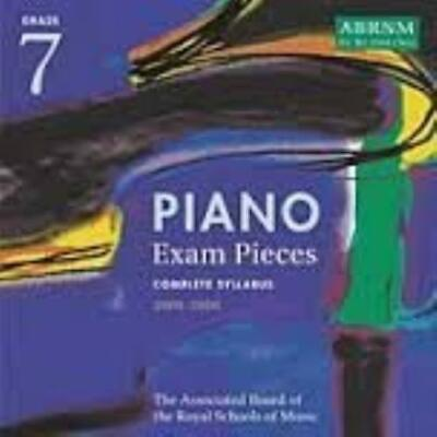 ABRSM Piano Grade 7 Exam Pieces -Audio C CD Incredible Value and Free Shipping!