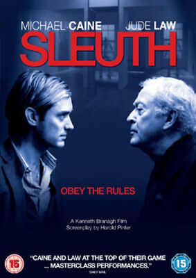 Sleuth DVD (2008) Michael Caine, Branagh (DIR) cert 15 FREE Shipping, Save £s