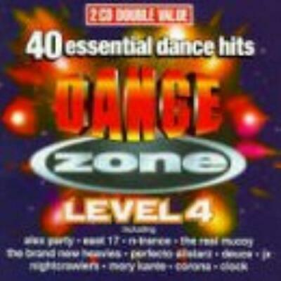 Various Artists : Dance Zone Level 4 - 40 Essential Dance CD