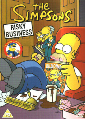 The Simpsons: Risky Business DVD (2003) cert PG Expertly Refurbished Product