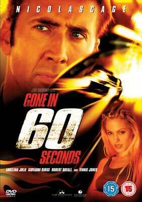 Gone in 60 Seconds DVD (2001) Nicolas Cage, Sena (DIR) cert 15 Amazing Value