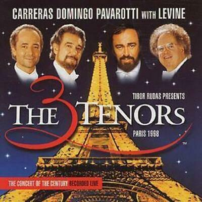 Luciano Pavarotti : The Three Tenors in Paris- Carreras, Domingo, Pavarotti