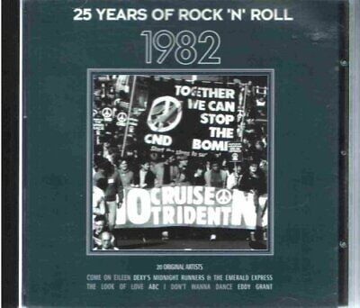 Various Artists : 25 Years Of Rock N Roll 1982 CD Expertly Refurbished Product