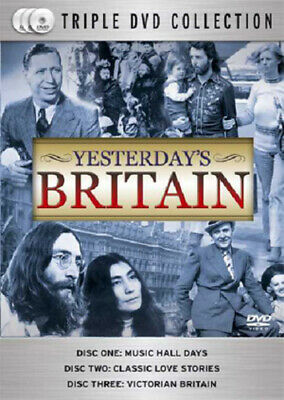 Yesterday's Britain DVD (2007) cert E 3 discs Expertly Refurbished Product