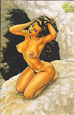 Cavewoman Uncovered Pinup Book US Variant Cover Edition