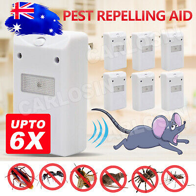 Ultrasonic Electronic Anti Rat Mice Rodent Pest Bug Control Repeller