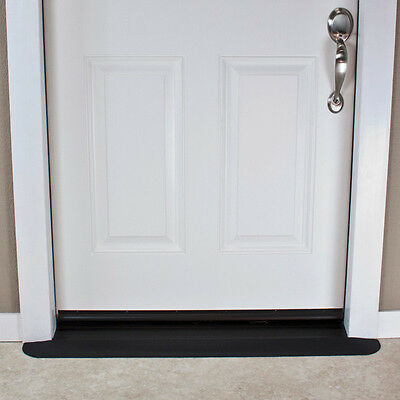 """SafePath EZEdge Transition Threshold Ramp For Door Sill, 1/2"""" Rise Various Sizes"""