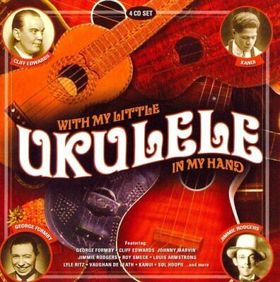 Various Artists : With My Little Ukulele in My Hand CD (2008) ***NEW***