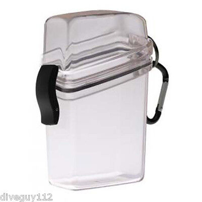 Witz Dry Box SmartPhone Locker IPhone Scuba Diving Gear Bag NEW Clear