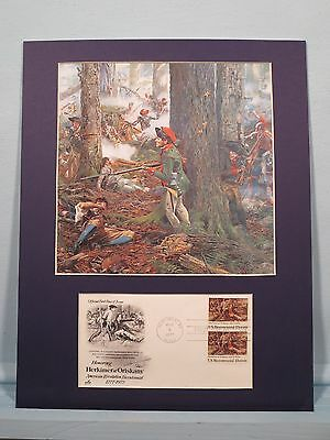 General Nicholas Herkimer wins the Battle of Oriskany & First Day  Cover