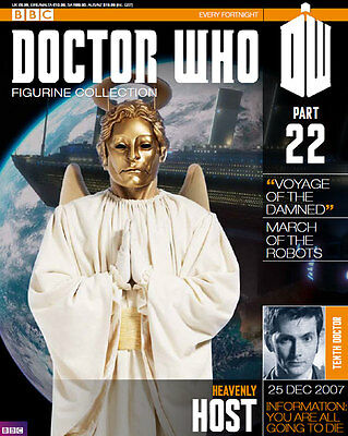 Doctor Who Figurine Collection Issue 22 Heavenly Host Factory Sealed Part & Mag
