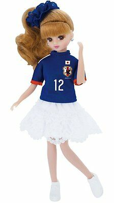 Takara Tomy Doll Licca chan Soccer Japan team 2014 from Japan New