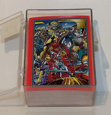 Comic Images Young Blood Complete Trading Card Set # 1-90